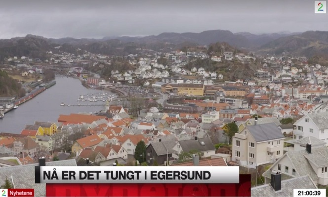 Tungt i Egersund